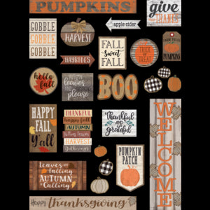Home Sweet Classroom Fall Mini Bb Set
