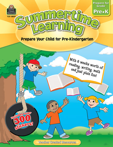 Summertime Learning Prek Bk