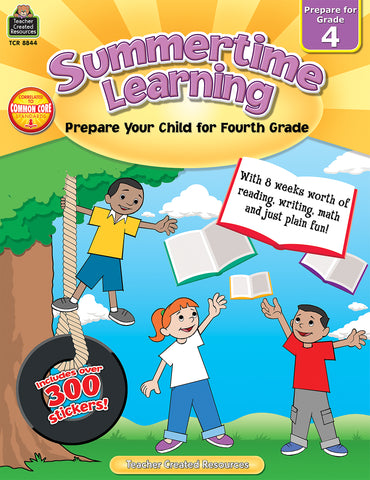 Summertime Learning 4 Bk
