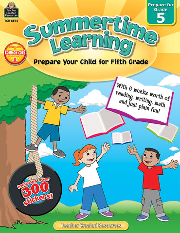 Summertime Learning 5 Bk