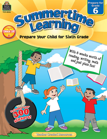 Summertime Learning 6 Bk