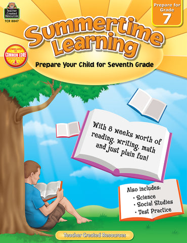 Summertime Learning 7 Bk