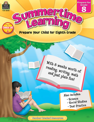 Summertime Learning 8 Bk