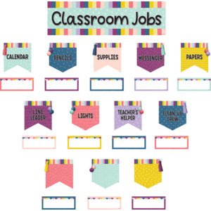 Oh Happy Day Classroom Jobs Mini Bb Set
