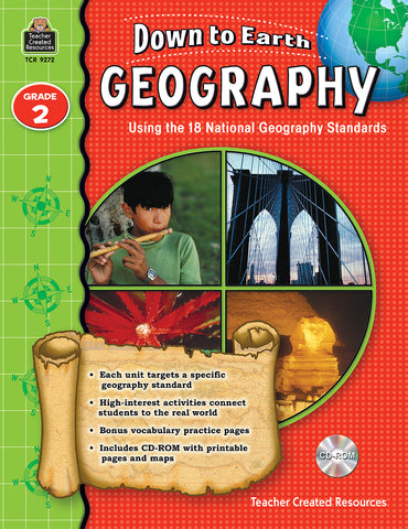 Down To Earth Geography 2 Bk
