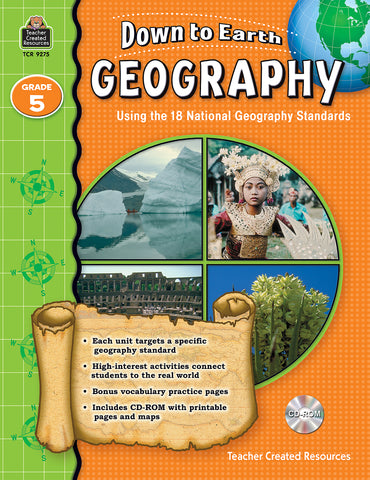 Down To Earth Geography 5 Bk