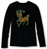 Bling Christmas Lovely Christmas Reindeer                              XMA-391-LR