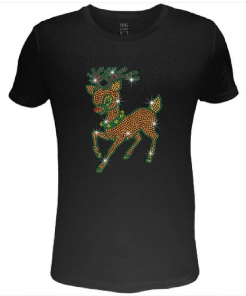 Bling Christmas Lovely Christmas Reindeer                      XMA-391-SC