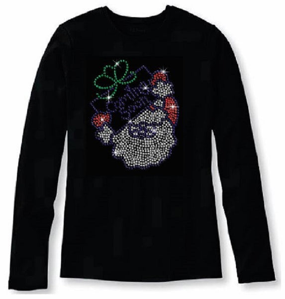 Bling Christmas Is Coming Soon Women's t shirt XMA-334-LR