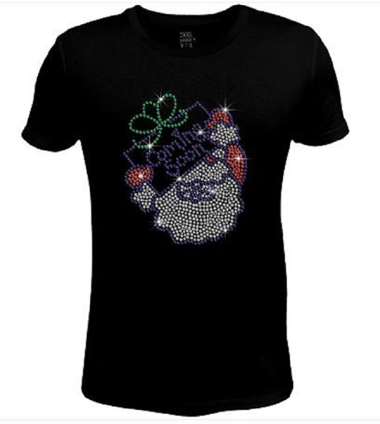 Bling Christmas Is Coming Soon Women's t shirt XMA-334-SC