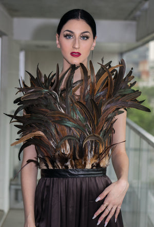 Robe Plume / Feather Dress