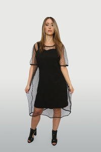 Robe Filet / Fish Net Dress