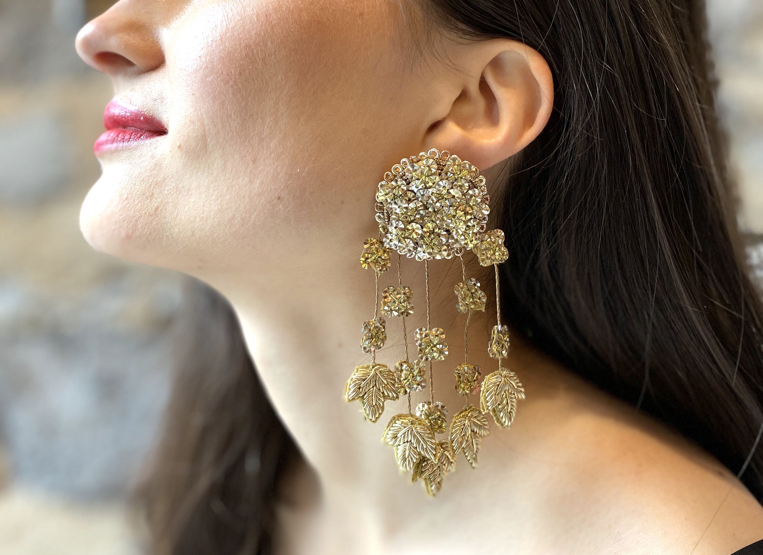 Boucles D'Oreilles Diwali // The Diwali Earring