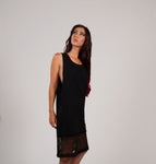 Robe Noire en Dentelle / Black Lace Dress