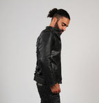 Veste en Cuir Noire / Black Leather Jacket