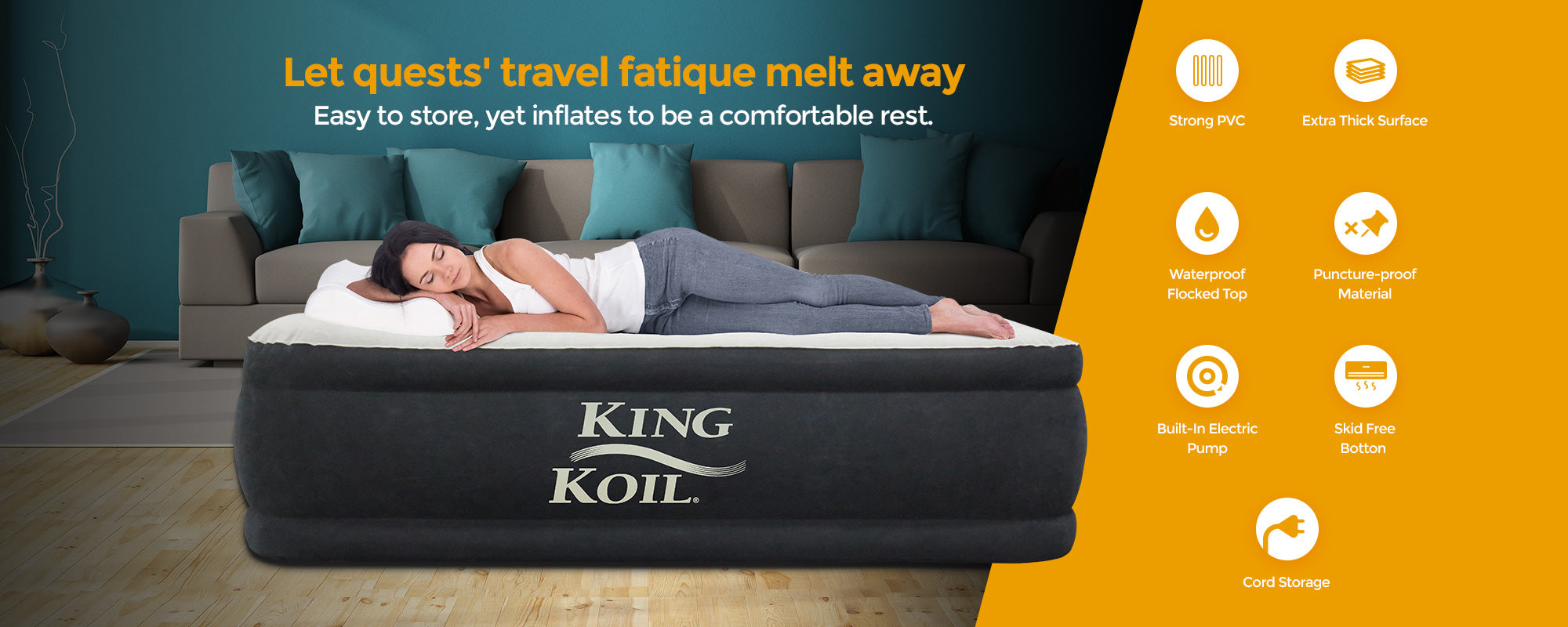 King Koil Airbeds The Best Air Mattresses And Airbeds In The World