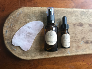 Rose Quartz Organic Face Treatment Set