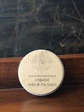 Organic Cold and Flu Balm
