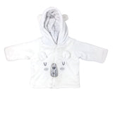 POLAR BEAR 2PC SET WITH HOODIE AND BEAR CUFFS