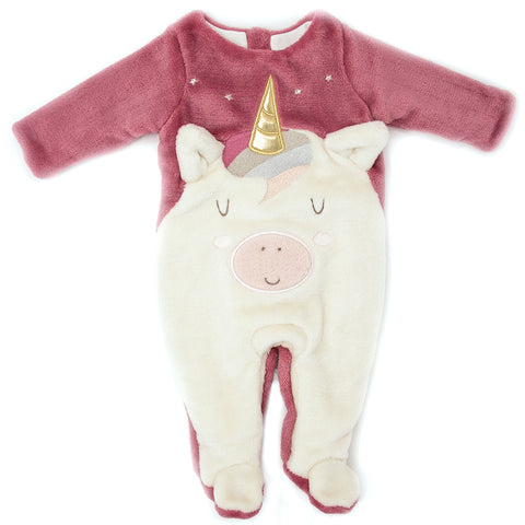 UNICORN FOOTED ONE-PIECE