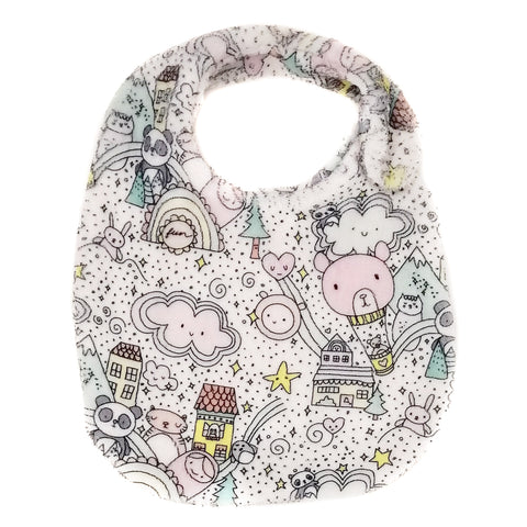 FUN CITY PINK BIB
