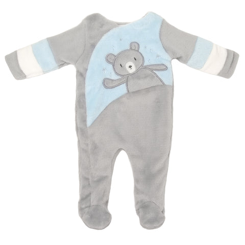 Bear Crossover Footed One-Piece