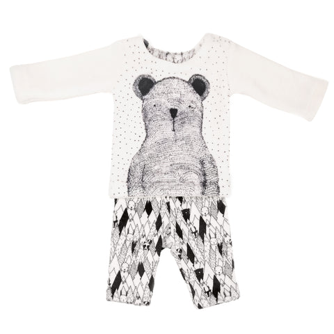 Nordic Bear 2PC Set