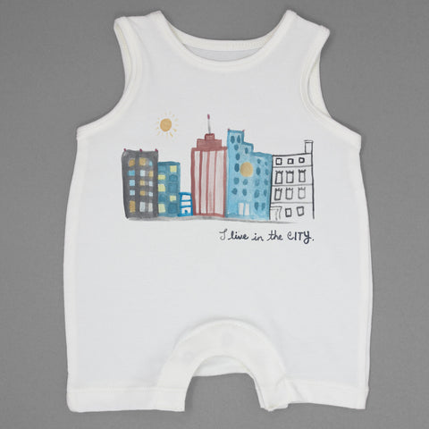 I Live In The City Romper