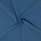 MINERAL BLUE COTTON KNIT FABRIC PER YARD