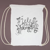 We are humans Tote Bag