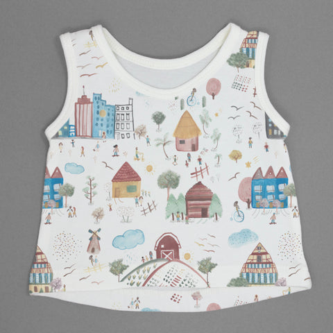 Houses Tank Top