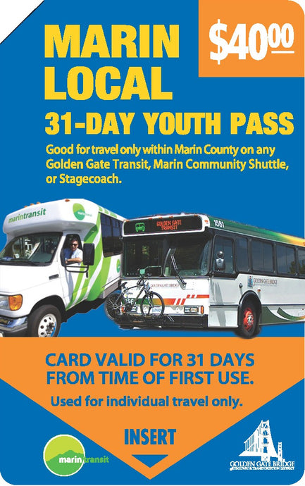 31 Day Pass - Youth
