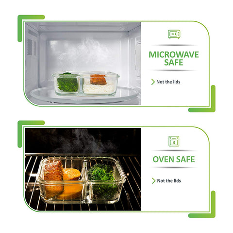 Microwave and oven safe
