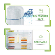 [50 pack, 17oz] Food Storage Containers With Lids - Plastic Containers With Lids Plastic Containers for Food Container With Lid - Freezer Containers Plastic Food Containers Deli Containers Meal Prep - PrepNaturals - Meal Prepping - Food Storage Containers
