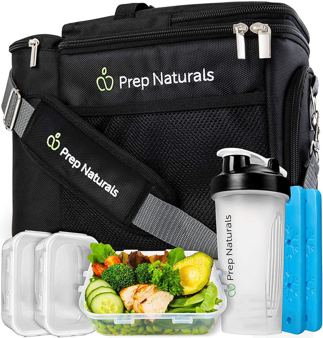 Meal Prep Bag Meal Prep Lunch Box - PrepNaturals - Meal Prepping - Food Storage Containers