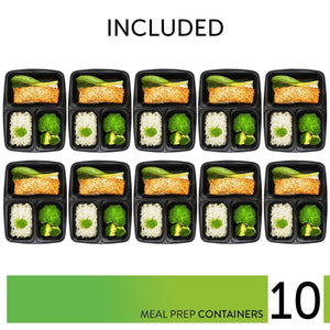 Prep Naturals Large Meal Prep Bag - PrepNaturals - Meal Prepping - Food Storage Containers
