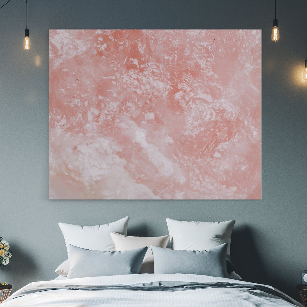 abstract pink canvas