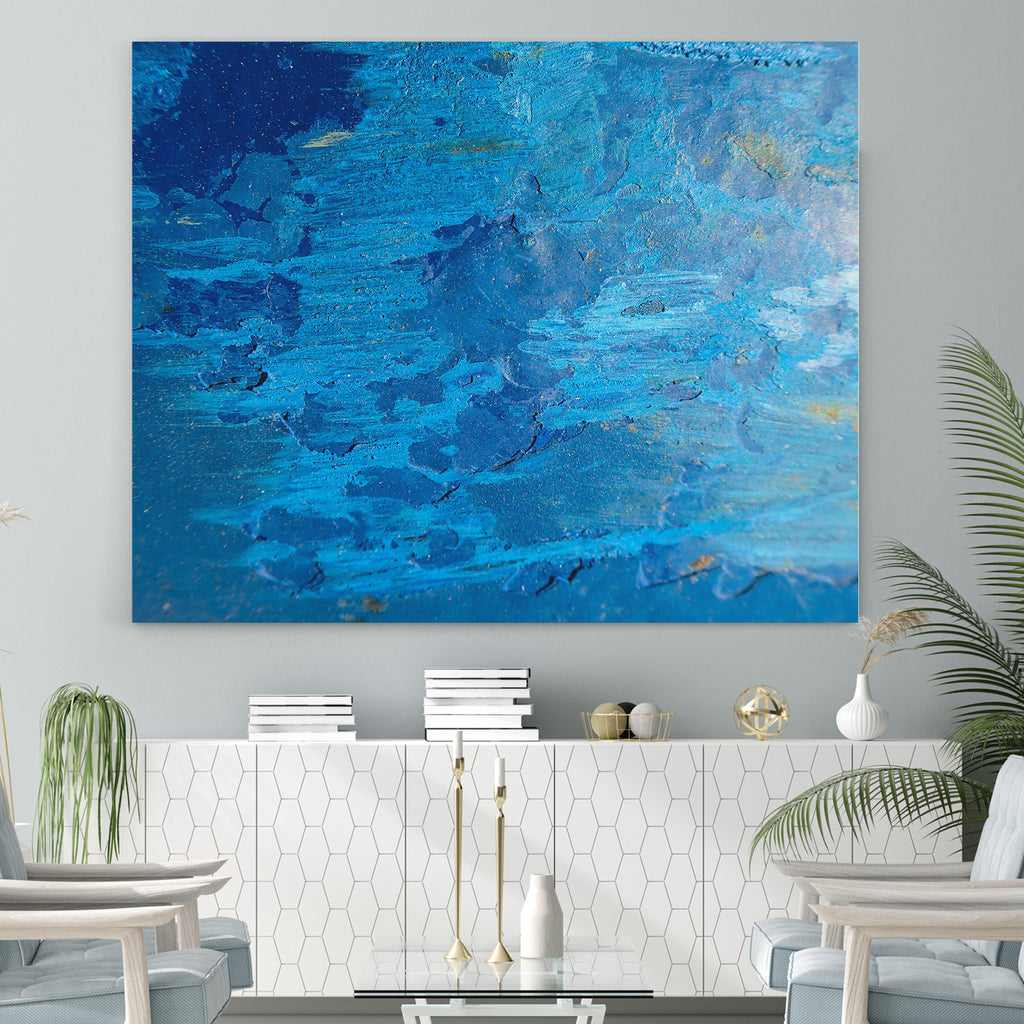 Abstract Blue - Canvas Art