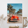 Miami and the sun- Canvas Art