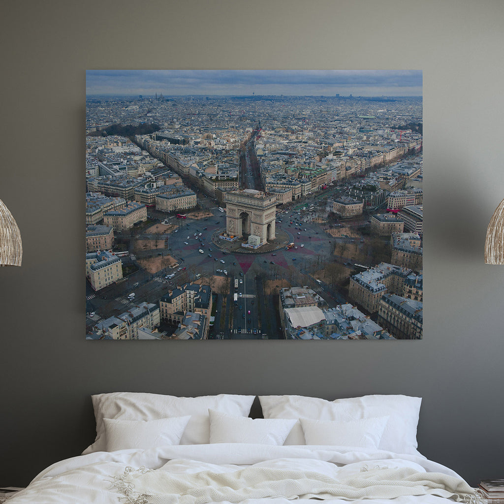 canvas art dubai paris