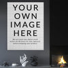 Your own image - Custom Canvas Art (Vertical)