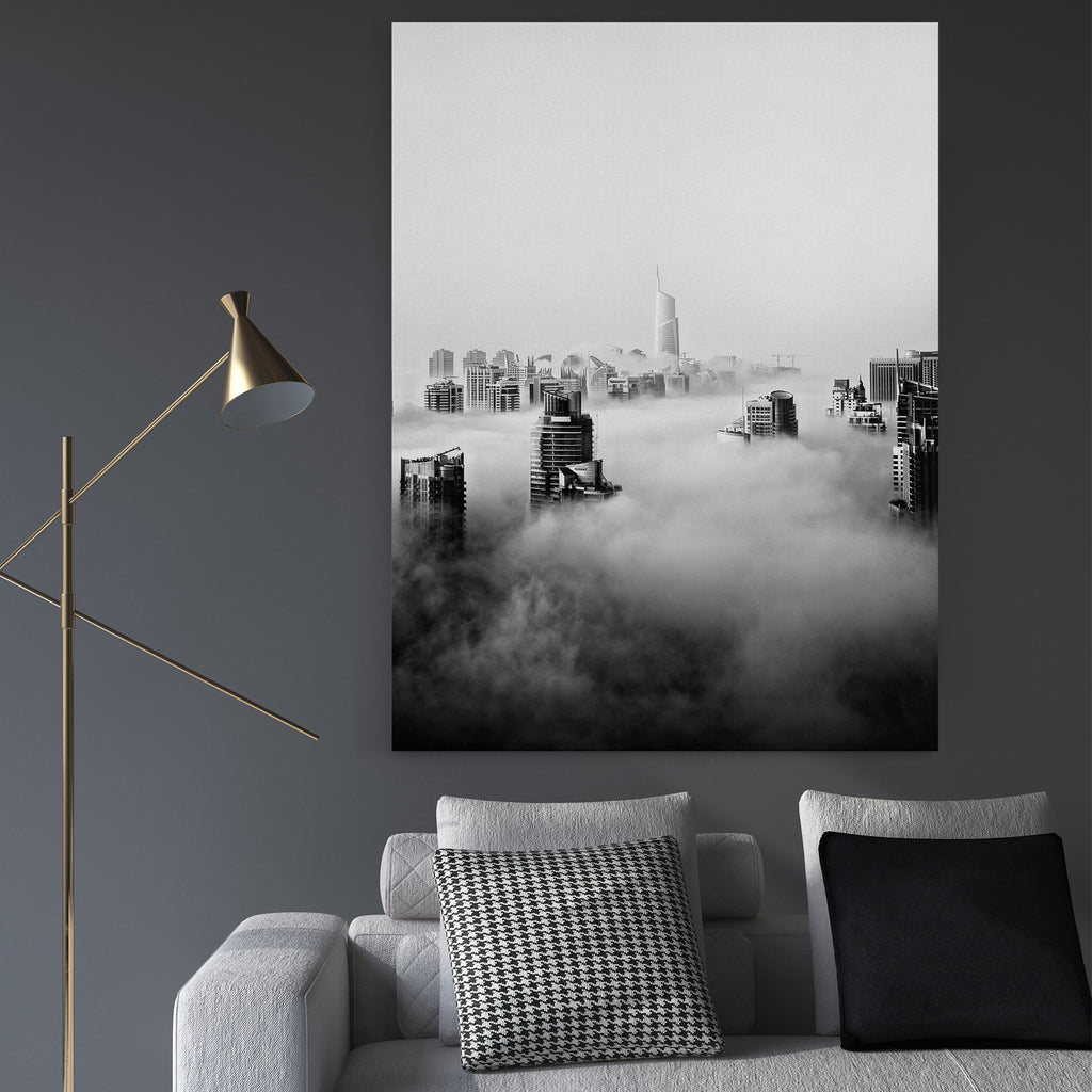 Dubai Clouds - Canvas Art