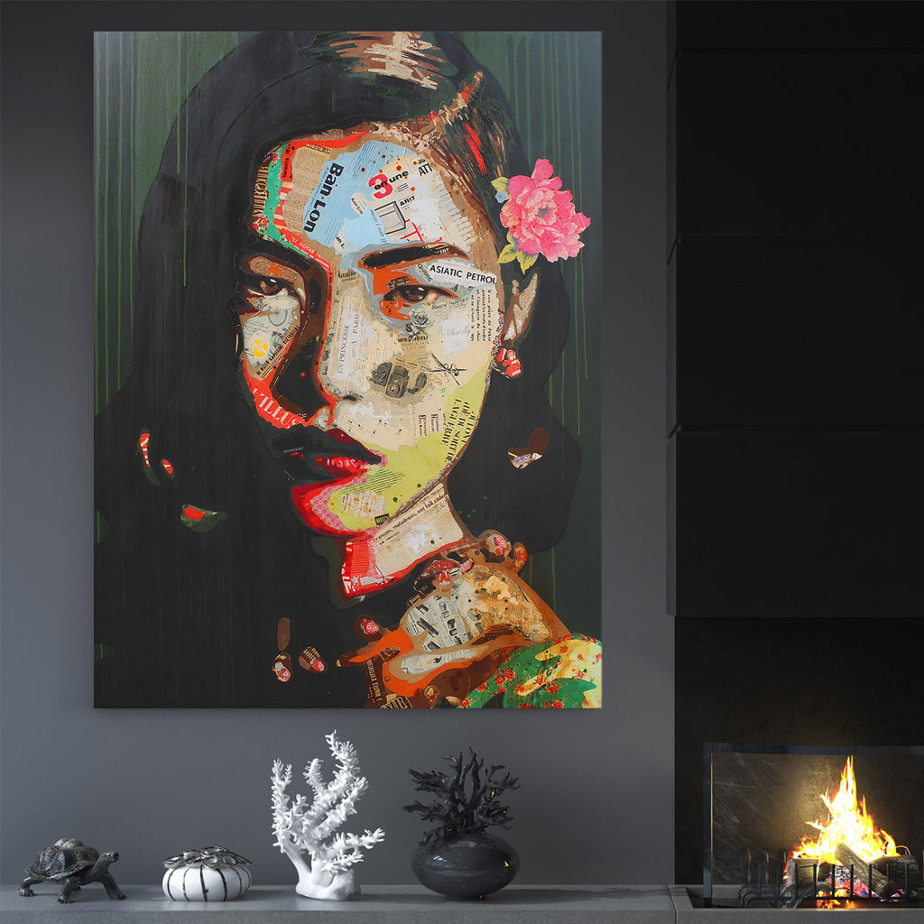 The Immortal Woman Within - Canvas Art