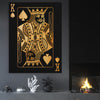 King of Spades - Canvas Art