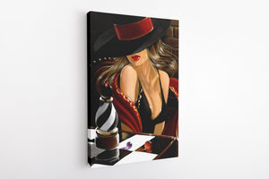 The Art of Mystery - Canvas Art
