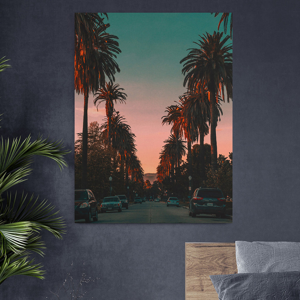 That sunset feeling - Canvas Art
