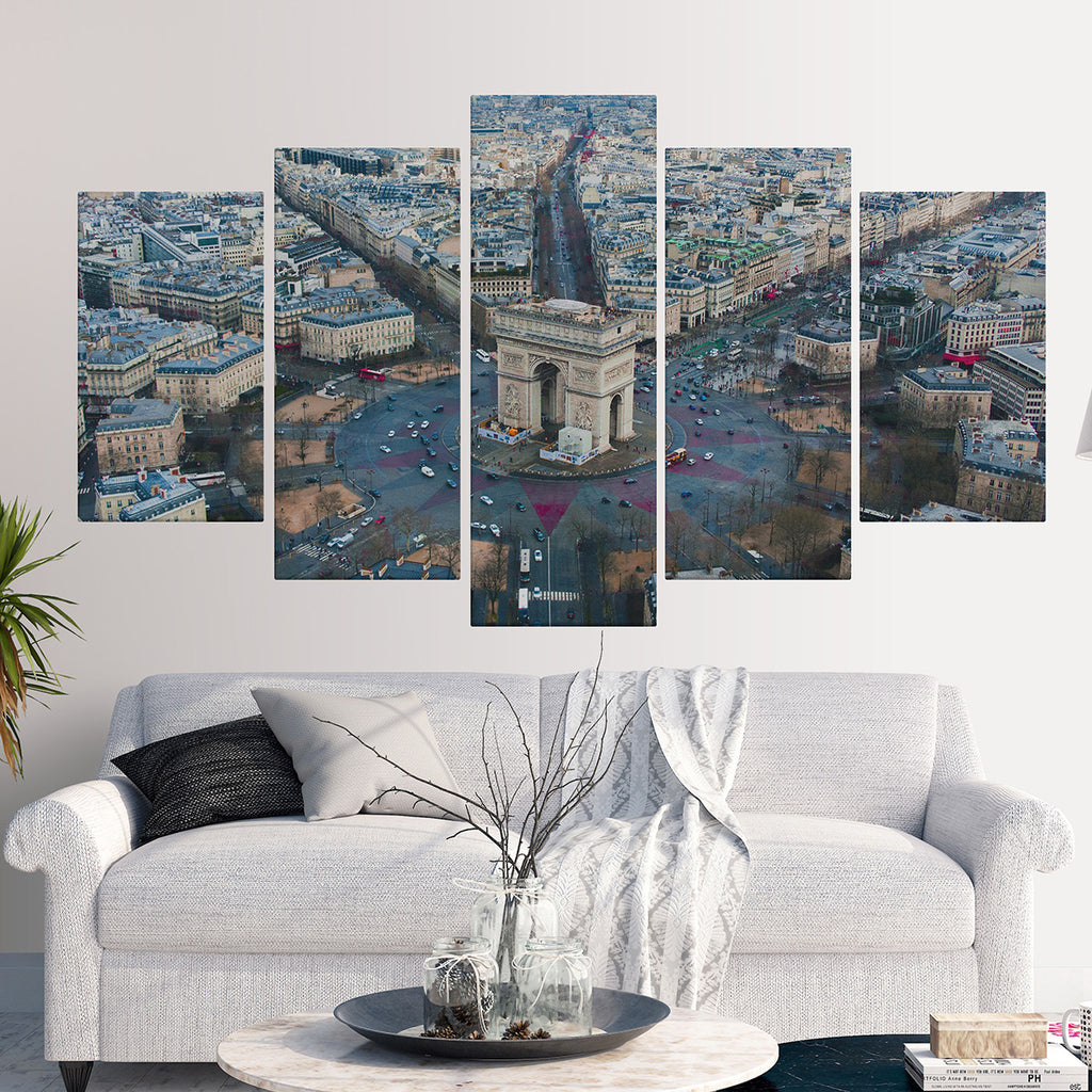 canvas art dubai Arc De Triomphe