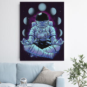 Space Man - Canvas Art