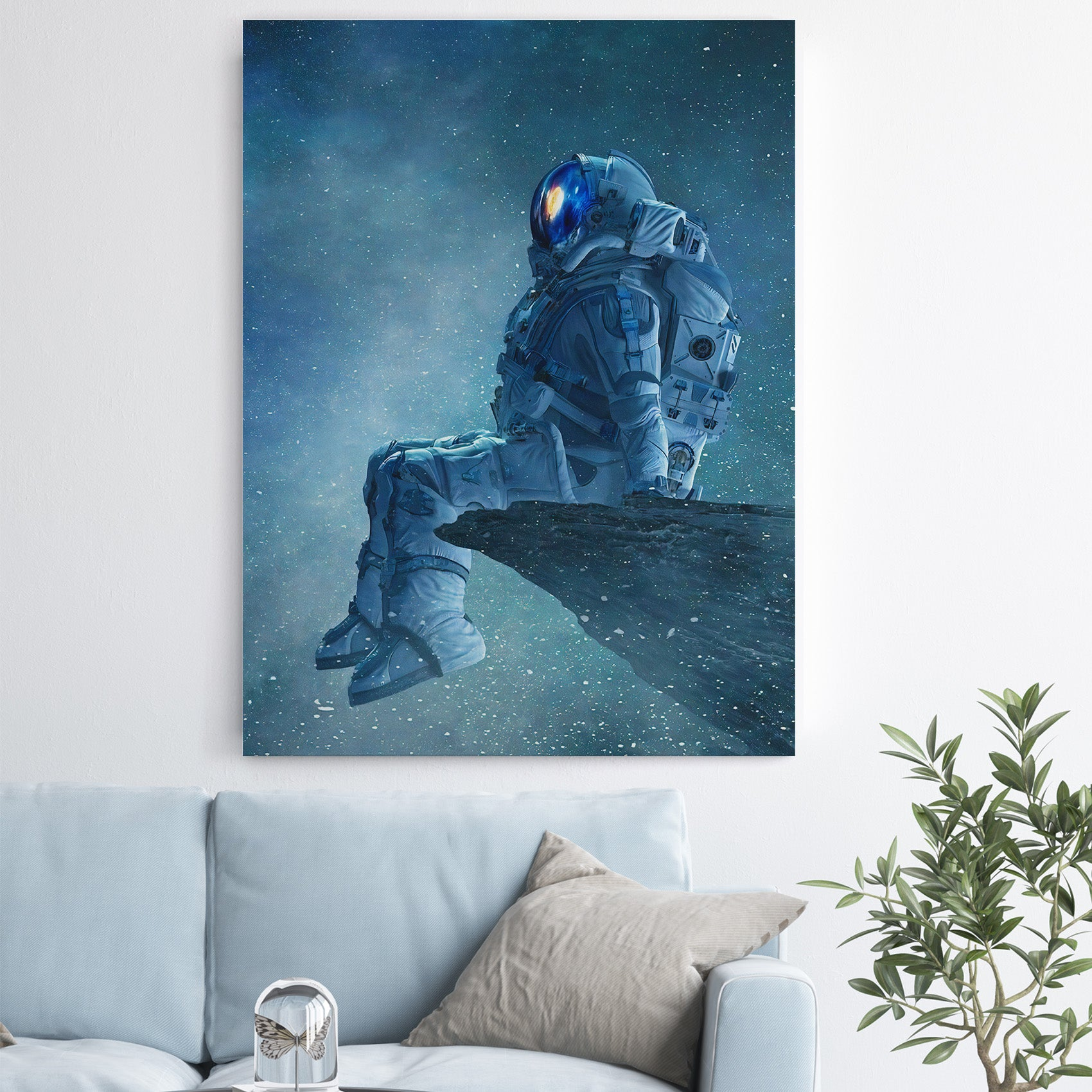 Space Thoughts - Canvas Art