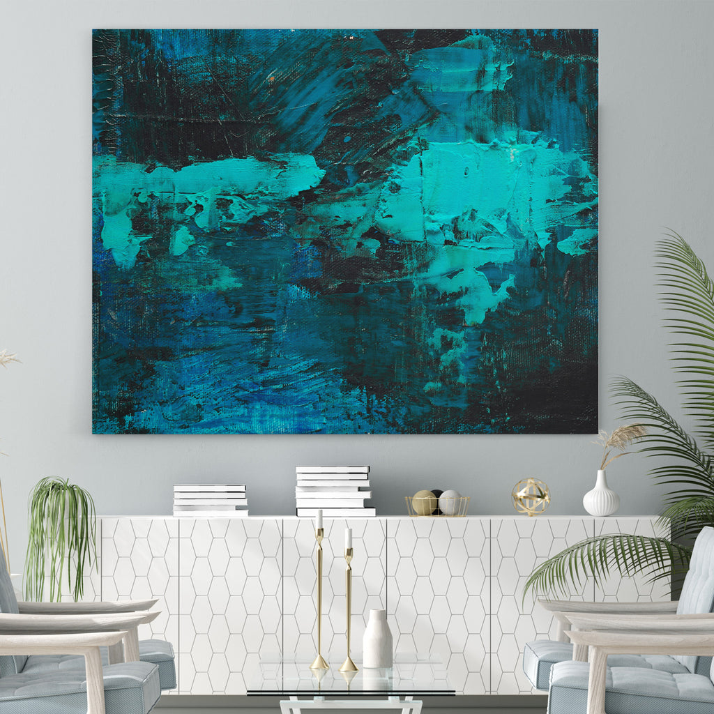 Abstract Strong Tones - Canvas Art